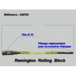 REMINGTON ROLLING BLOCK